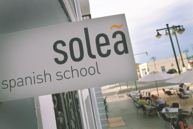 solea spanish school display entrance