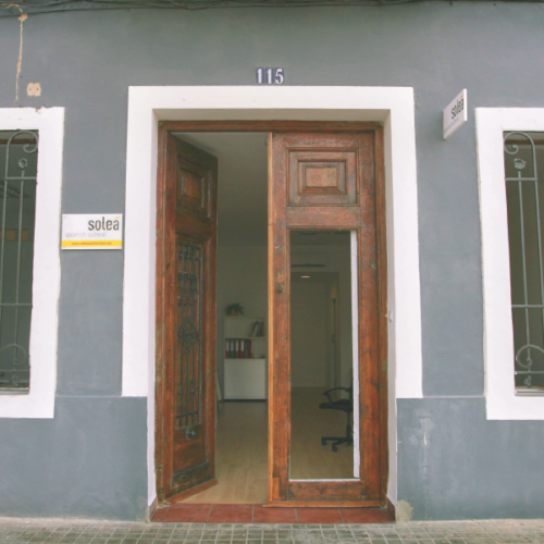 solea spanish school door