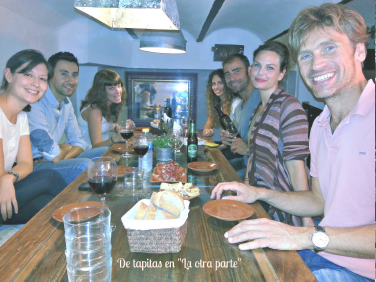 solea spanish school students de tapas
